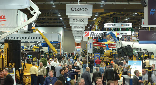 World Of Concrete 2015 Central Hall