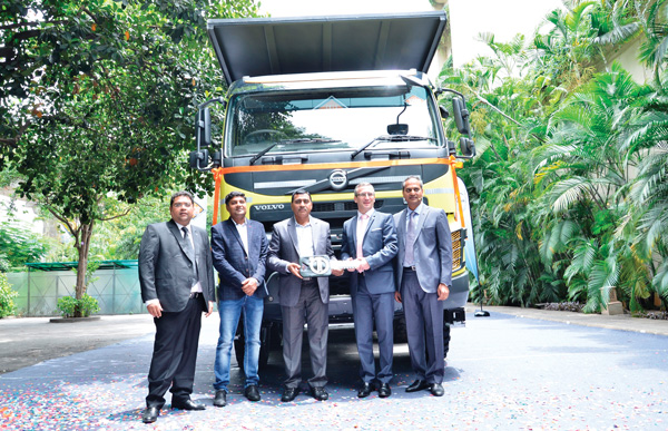 Volvo 10000th Truck in India