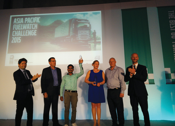 Volvo Truck Asia Pacific Fuelwatch Challenge 2015