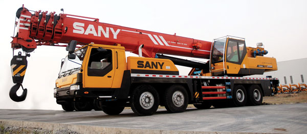 Sany Truck Mounted Telescopic Boom Crane