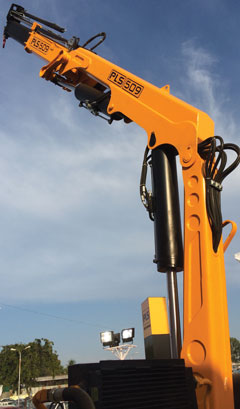 PLS Truck Mounted Knuckle Boom Cranes