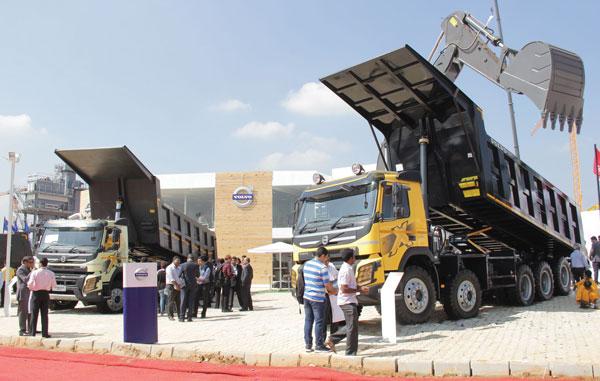 Volvo Multiaxle Dump Trucks
