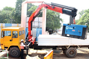 Palfinger Truck Mounted Fork lifts