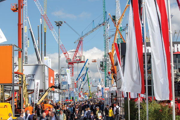 bauma Germany 2016
