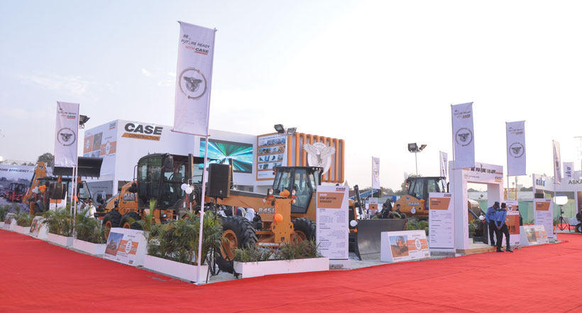 bC India Case Construction Booth
