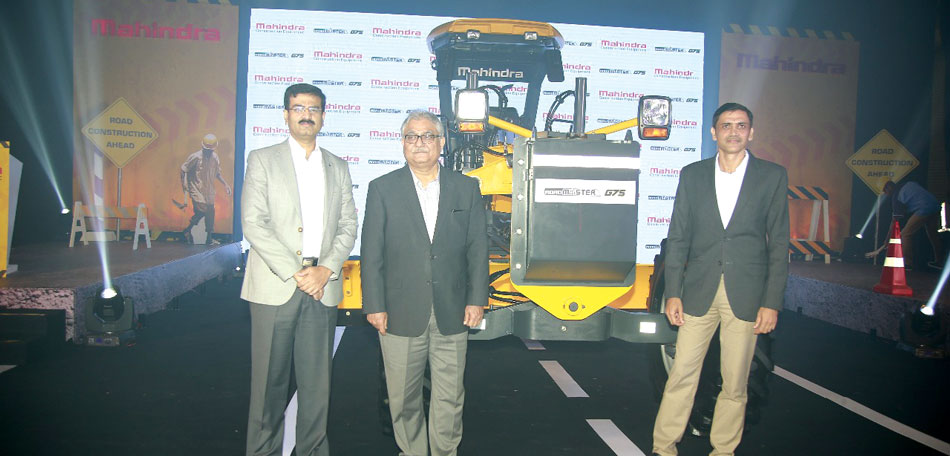 Mahindra rides into road equipment business on new G75 motor grader