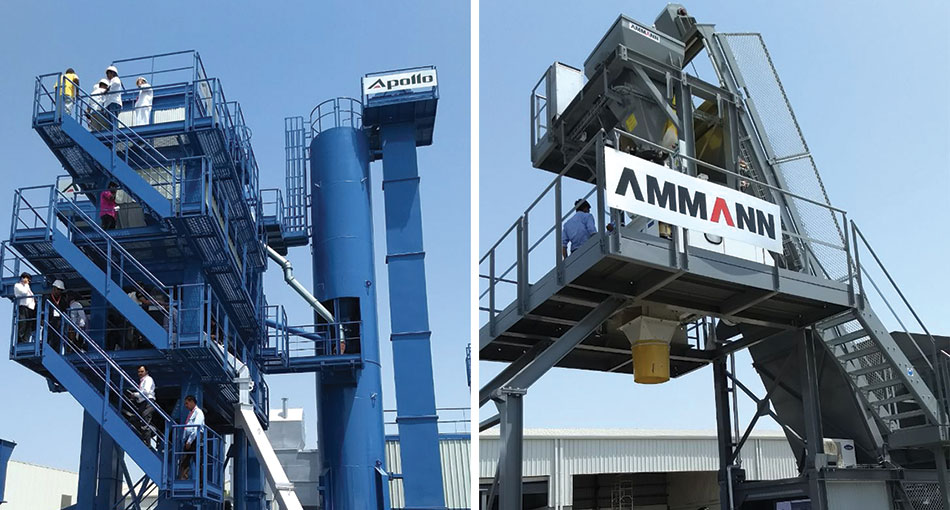 Ammann Apollo Technology Holds Global Meet