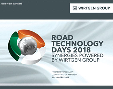 Wirtgen Group showcases specialized solutions for road construction