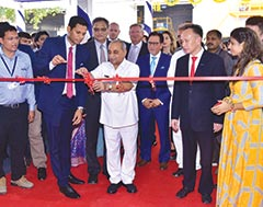 Gujarat Dy. Chief Minister Nitin Patel inaugurates new production facility of Apollo Inffratech's newly formed JV ApolloZenith Concrete Technologies