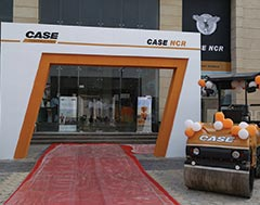 CASE inaugurates first company-owned showroom in India