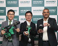 Hitachi Koki (re-branded HiKOKI) announces aggressive business plans for India