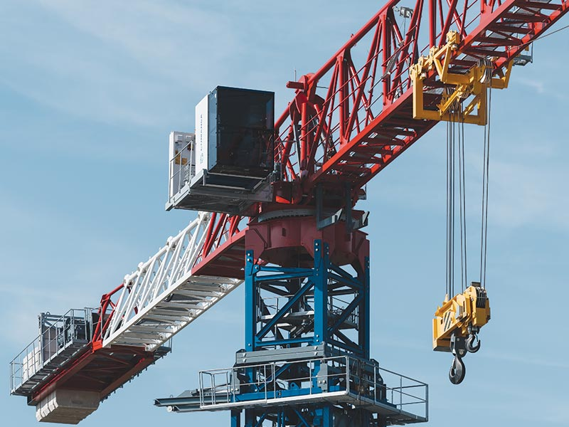 COMANSA to showcase new 50-ton flat-top tower crane 21LC1050