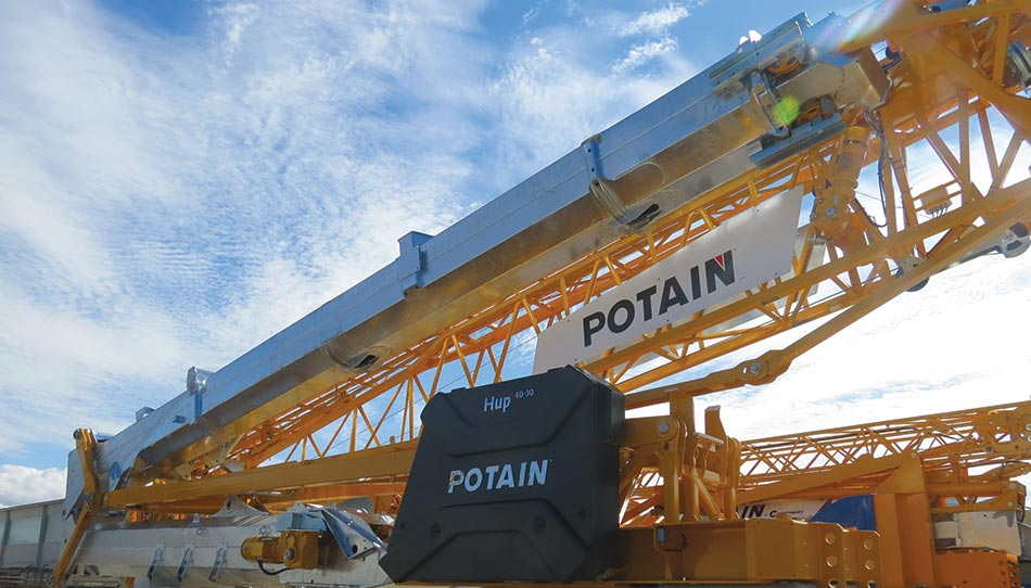 Manitowoc launches pioneering Potain Hup