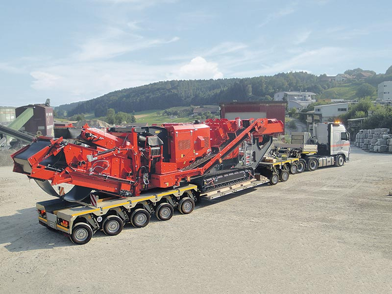 TII GROUP's new Heavy - Duty Trailer