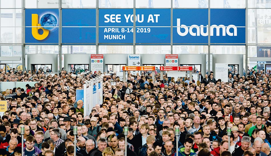 Bauma Germany Entrance Hall