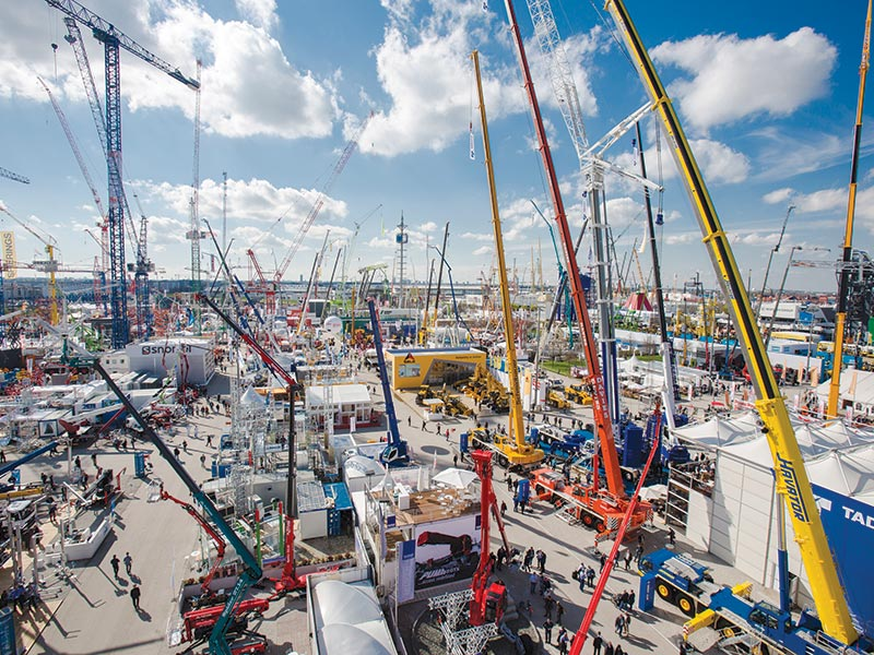bauma Germany 2019-Driving Digitization