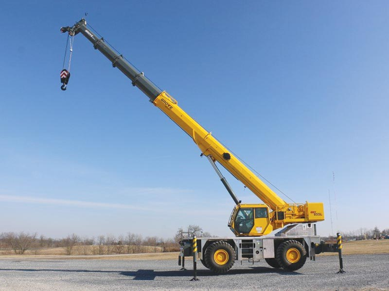 MANITOWOC to unveil six new cranes and new technologies