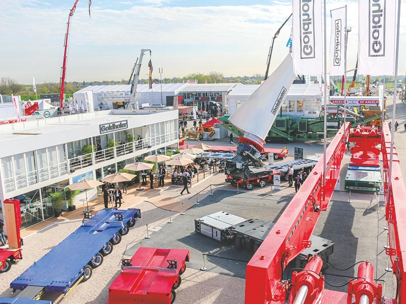 Goldhofer to present many innovations for - construction and heavy-haulage