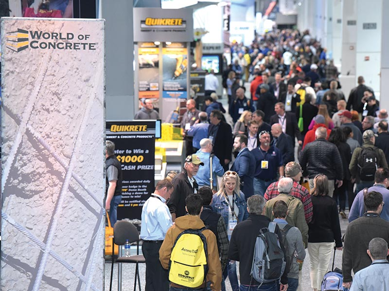 World of Concrete 2019 - Celebrates a record 10 Year High