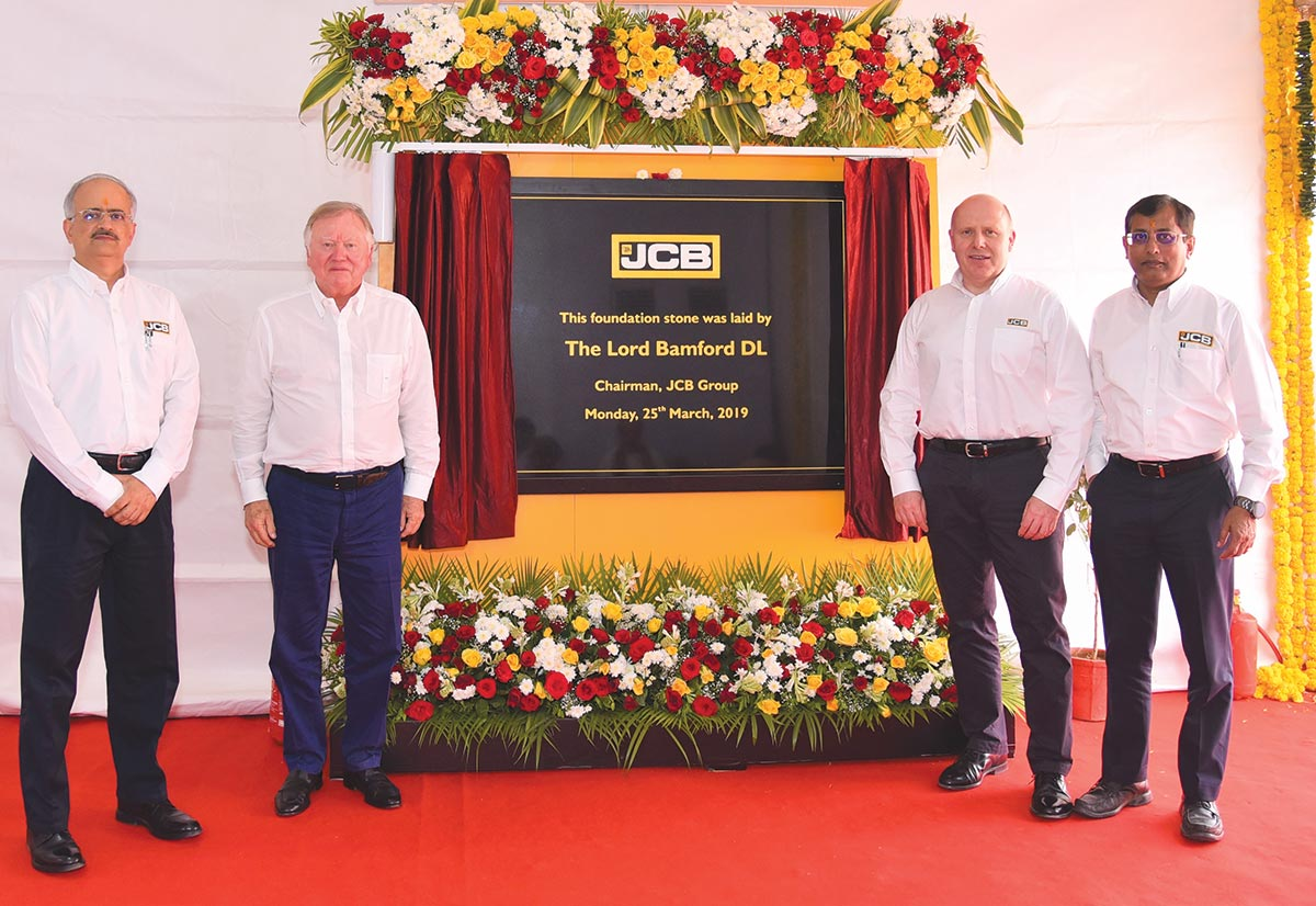 JCB to invest in New Plant in India
