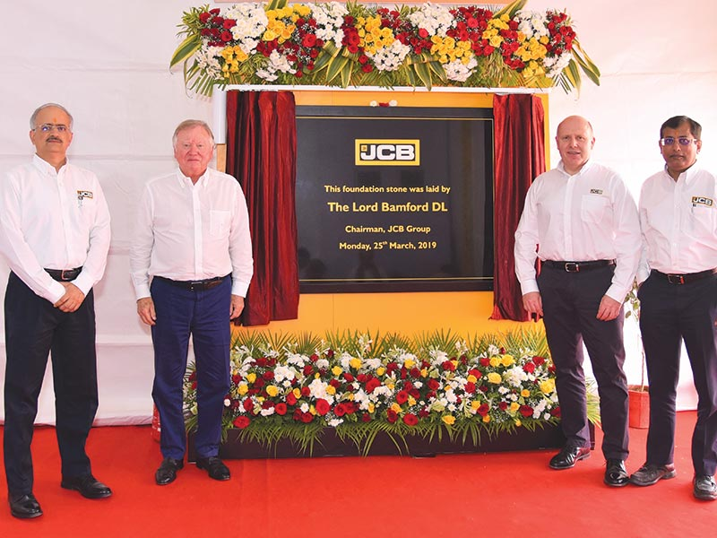 JCB to invest ₹650 crore in New Plant in India