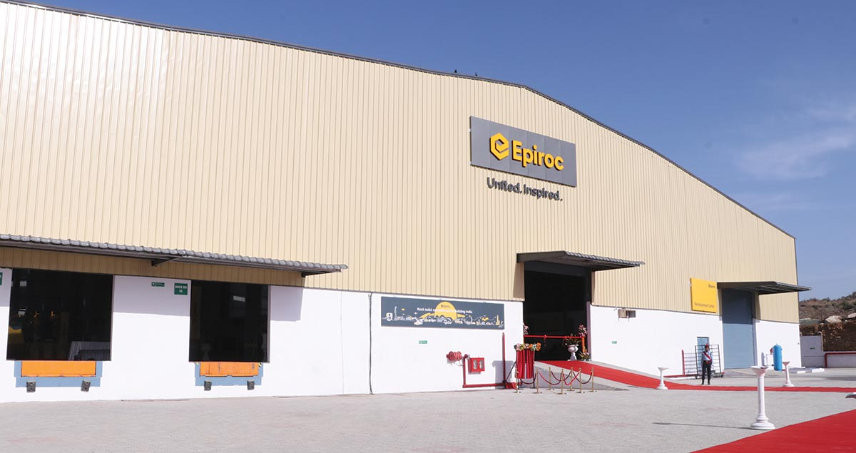 Epiroc opens new Distribution, Refurbishment and Training Center in Udaipur