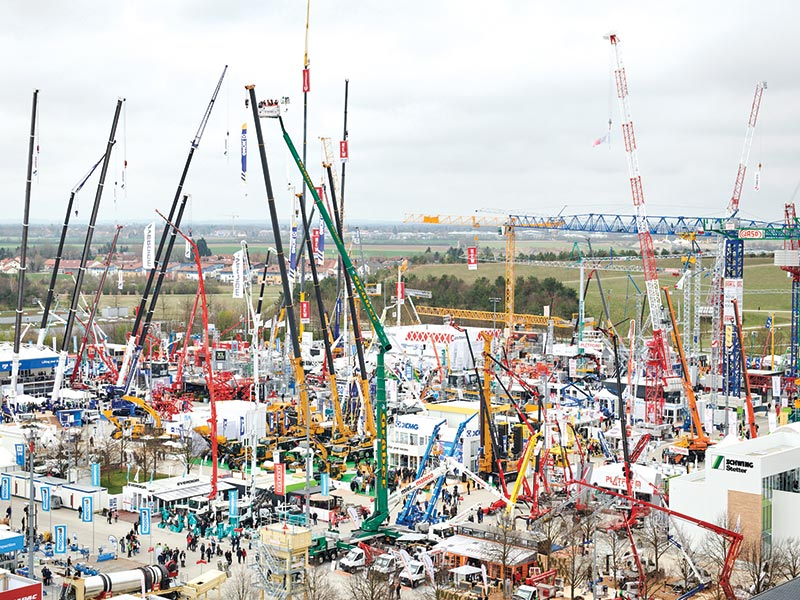 Bauma 2019 Breaks Earlier Records
