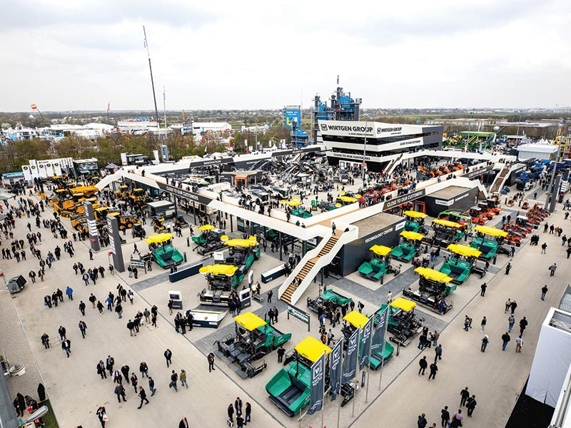 Wirtgen Group draws record number of visitors