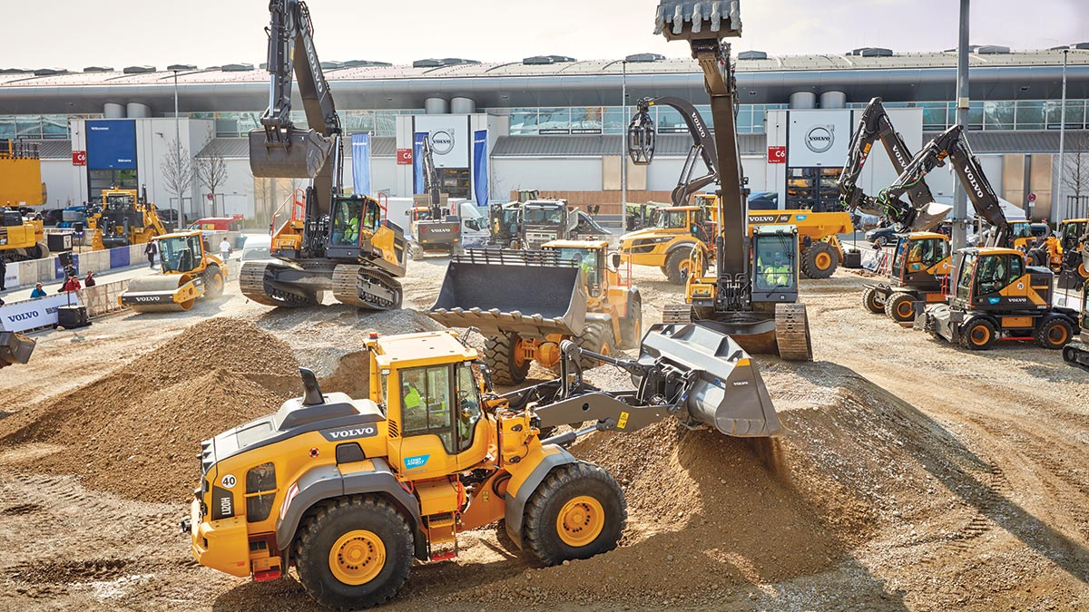 Volvo at Bauma  Munich