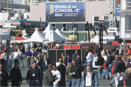 World of Concrete'10 Braces Up for 36th Edition