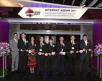 INTERMAT ASEAN 2017's Inaugural Edition Closes on A Positive Note