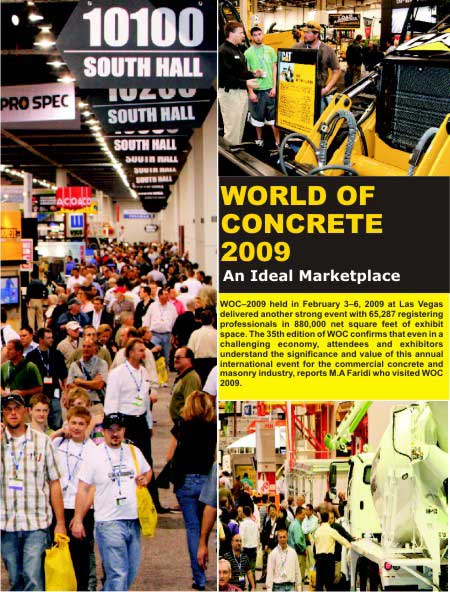 World of Concrete 2009 An Ideal Marketplace