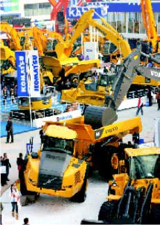 Myriad Moods of bauma China 2008