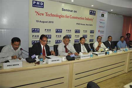 Seminar on New Technologies for Construction Industry