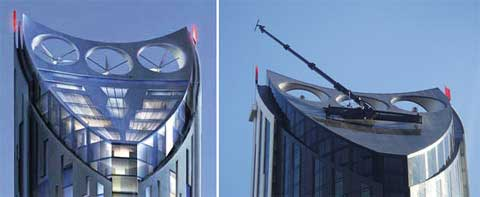 Strata SE1–First Residential Building with Wind Turbines