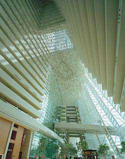 Hotel Lobby Atrium at Marina Bay Sands