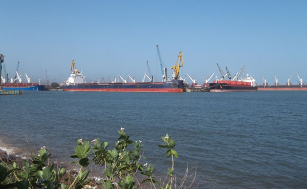 North Jetty of Paradip Port