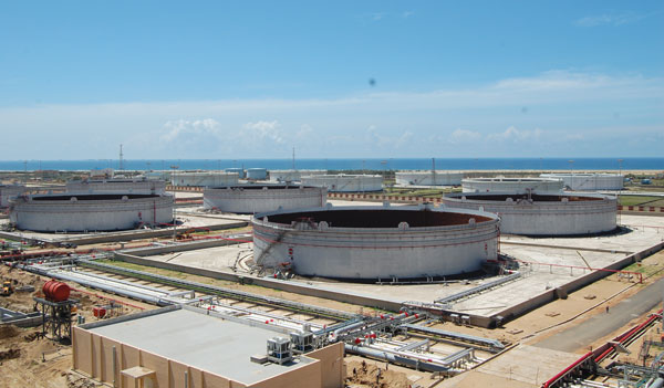 Tank Farms under Construction at IOCL Refinery