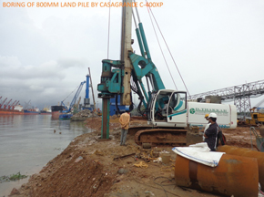 Casagrande XP Series Piling Rigs