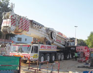 Demag All Terrain Cranes