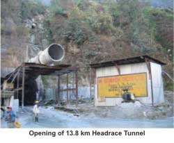 Final Breakthrough on Teesta v hydroelectric Projects's Six-Face Headreace Tunnel