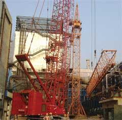 Manitowoc tower crane