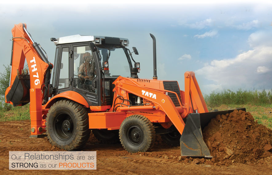 Tata Hitachi Backhoe Loader