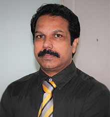 Krishna Kumar, Divisional Head-Tower Cranes Sales at Liebherr India