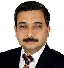 Nischal Mehrotra, Director Sales, Liugong India