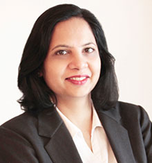 Shefali Saxena, Louis Berger's COO for Asia