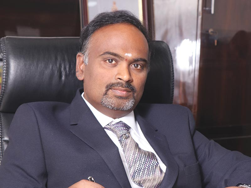 K Jalandhar Reddy, Executive Director, KNRCL