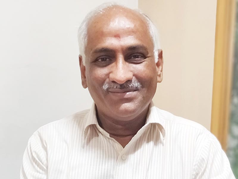Rajagopalan T S, Vice President – Projects, Adarsh Developers