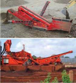 Mobile Crushing, Screening, Washing and Recycling equipment
