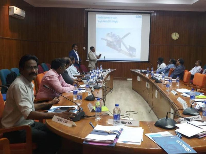 PWD Chennai invites CDE Asia on Good Quality M-Sand Production Discussions